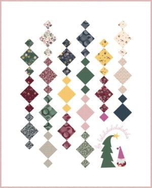 Meags & Me Fa La La Christmas Quilt Pattern