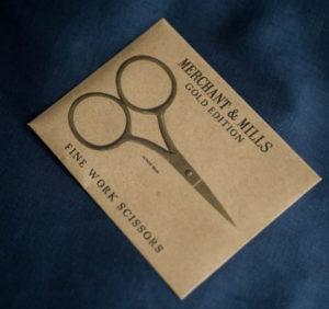 Merchant and Mills Gold Scissors