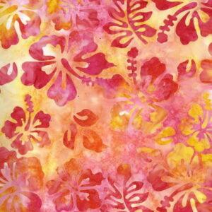 Michael Miller Hibiscus Batik Blossom