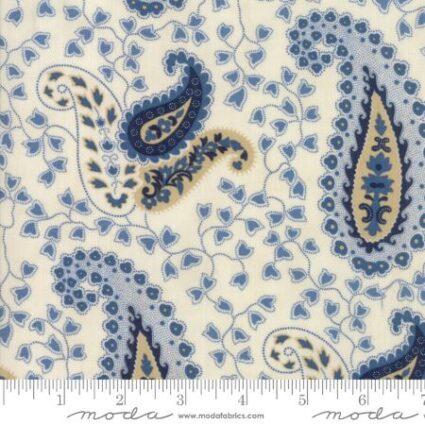 Moda Crystal Lake Minick Simpson Reproduction Paisley Natural