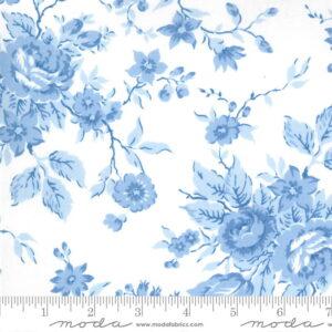 Moda Crystal Lane Blue Floral by Bunny Hill Designs