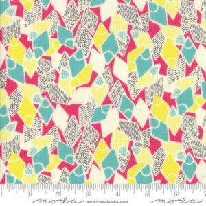 Moda Remix Modern Flip Flops Pink by Jen Kingwell