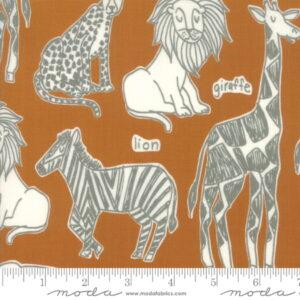 Moda Safari Life Childrens Novelty Safari Kingdom Amber by Stacy Iest Hu