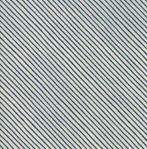 Moda Wintertide Blue stripe by Janet Clare