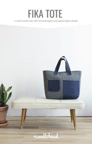 Noodlehead Fika Tote Bag Pattern