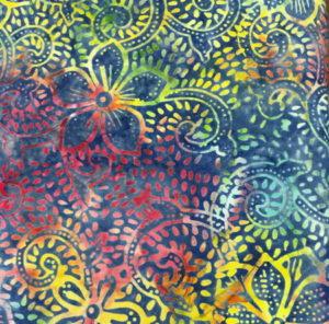 Nutex Artisan Bali Multi Colour Floral Design
