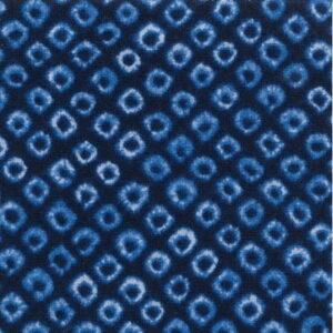 Nutex Shibori Sakuru Navy Blue Fabric