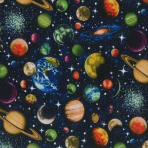 Nutex Solar Glitter Planets Blue