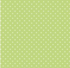 P and B Designs Basically Hugs Green Spot