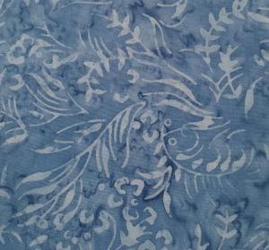 Sew Simple Blue Vines Batik