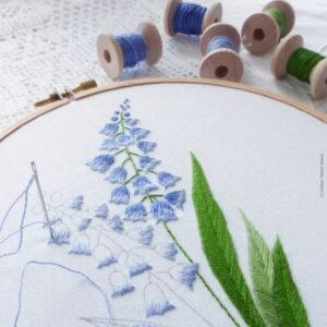 Tamar Nahir Yanai Bellevalia Embroidery jpg