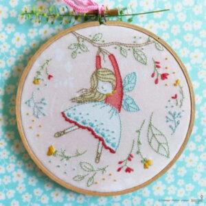 Tamar Nahir Yanai Flying Fairy Embroidery Kit