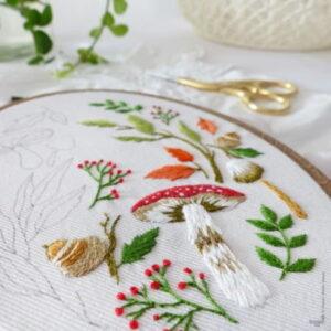 Tamar Nahir Yanai Magical Autumn Embroidery