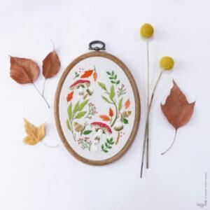 Tamar Nahir Yanai Magical Autumn Embroidery Kit