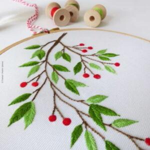 Tamar Nahir Yanai Mistletoe Embroidery
