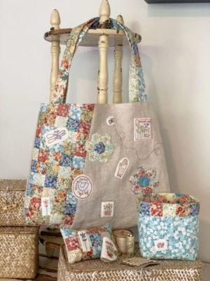 The Birdhouse Maisies Garden Bag Pattern by Natalie Bird