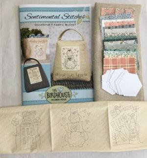 The Birdhouse Sentimenatl Stitches Doorstop Kit