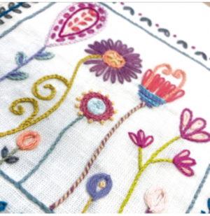 Un Chat dans l'aiguille Stitch Lessons Beginners Embroidery Book Kit by Christel Gouze Elbaz