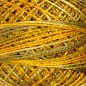 Valdani 12 Perle Harvest Wheat Gold Sage