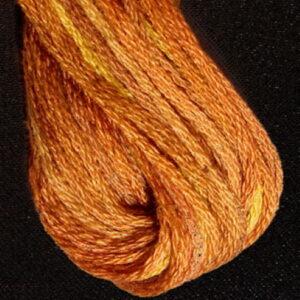 Valdani 6 Ply Embroidery Thread Golden Browns