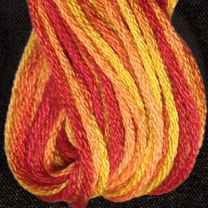 Valdani 6 Ply variegated embroidery Floss Autumn