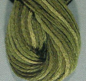 Valdani 6 Ply Floss Crispy Leaf