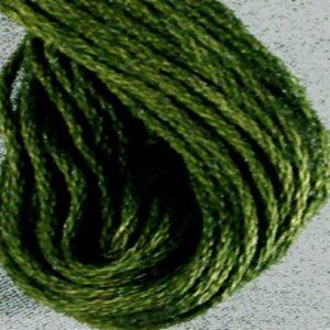 Valdani Olive Green Dark 6 Ply Embroidery Thread