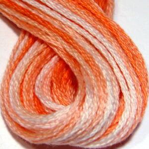 Valdani 6 Ply Variegated embroideryFloss Peaches