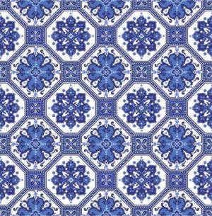 blue rhapsody tiles