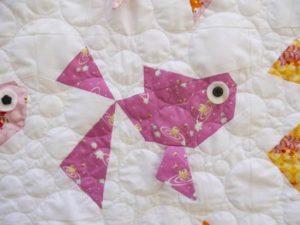 Claire Turpin Goldies Applique Quilt Pattern