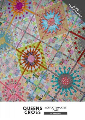 Jen Kingwell Queens Cross Acrylic Templates
