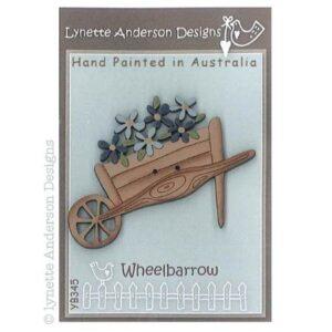 Lynette Anderson Wheelbarrow Button